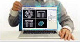 CT再構成     ソフトウェアのイメージ
